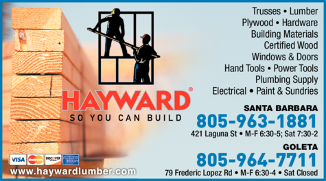 Yellow Pages Ad of Hayward Lumber