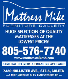 Yellow Pages Ad of Mattress Mike Furniture Gallery