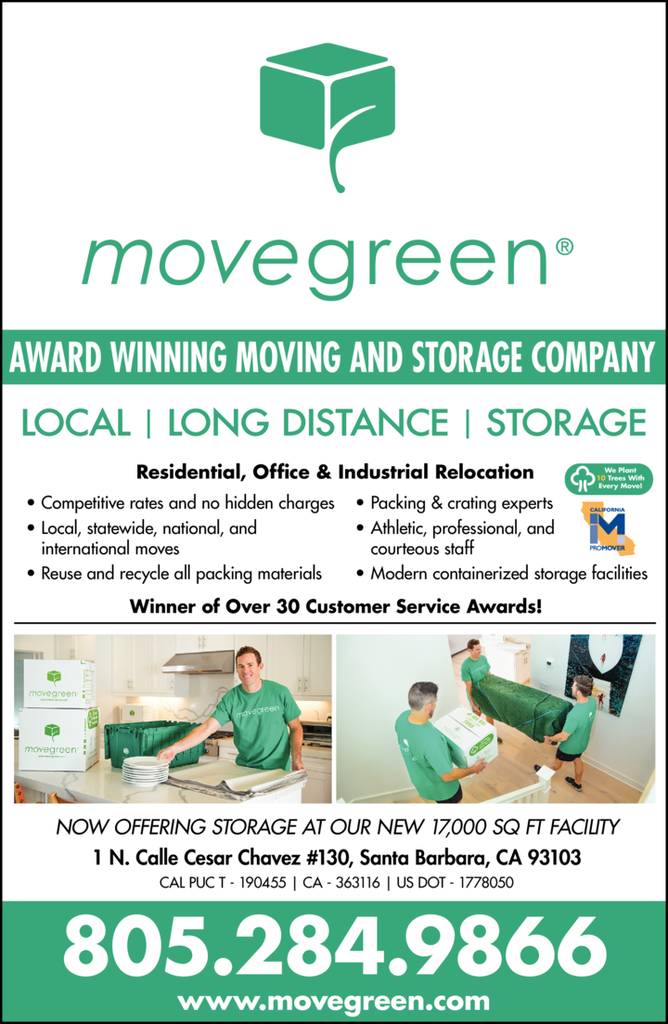 Yellow Pages Ad of Movegreen