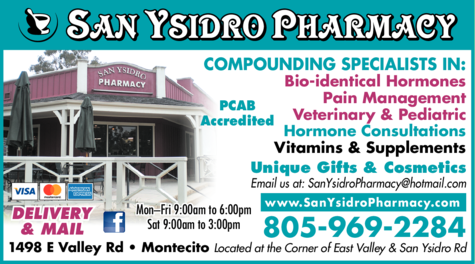 Yellow Pages Ad of San Ysidro Pharmacy Inc