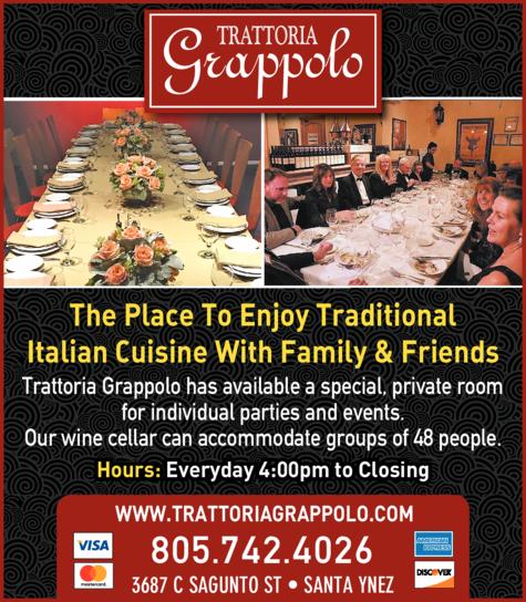 Print Ad of Trattoria Grappolo