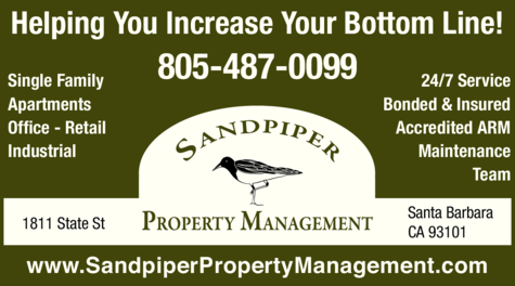 Yellow Pages Ad of Sandpiper Property Management