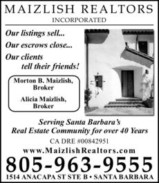 Yellow Pages Ad of Maizlish Realtors Inc
