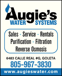Yellow Pages Ad of Augie's Water Systems
