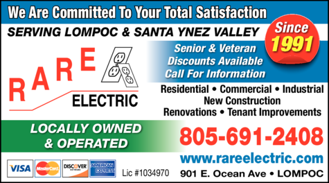 Yellow Pages Ad of Rare Electric