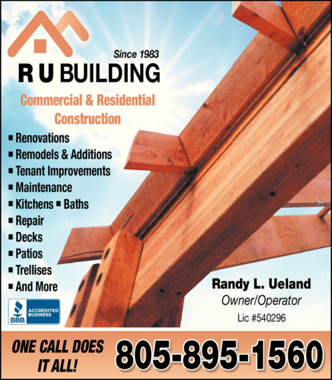 Yellow Pages Ad of R U Building