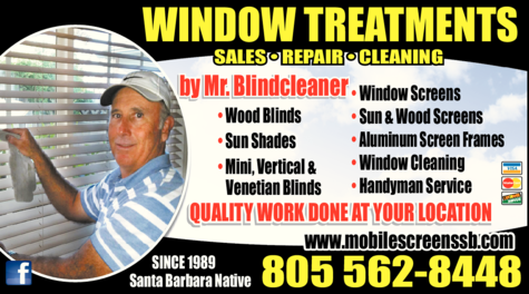 Yellow Pages Ad of Mr Blindcleaner - Sales & Service