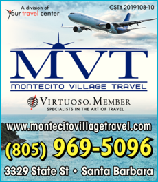 Yellow Pages Ad of Montecito Village Travel