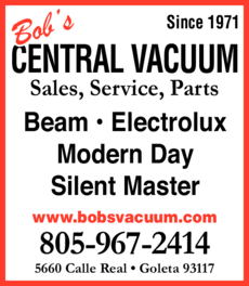 Yellow Pages Ad of Bob's Central Vacuum