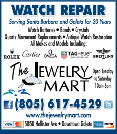 Yellow Pages Ad of The Jewelry Mart