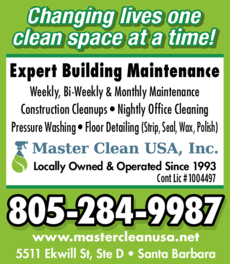 Yellow Pages Ad of Master Clean Usa