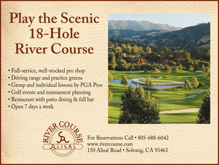 Yellow Pages Ad of River Course At The Alisal
