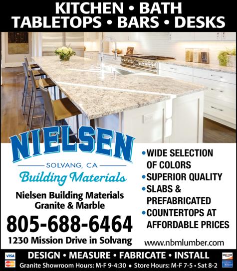 Print Ad of Nielsen Building Materials Inc