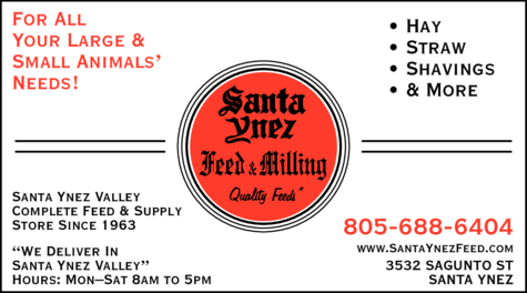 Yellow Pages Ad of Santa Ynez Feed & Milling Co