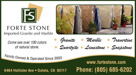 Yellow Pages Ad of Forte Stone