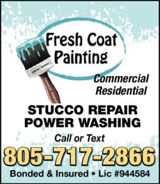Yellow Pages Ad of Fresh Coat Painting