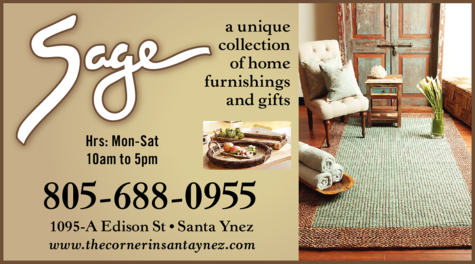 Yellow Pages Ad of Sage Of Santa Ynez