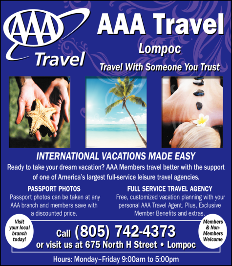 Yellow Pages Ad of Aaa Travel Agency