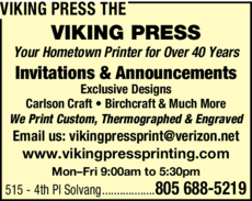 Yellow Pages Ad of Viking Press The