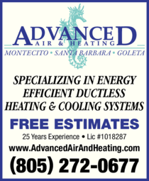 Yellow Pages Ad of Advanced Air & Heating