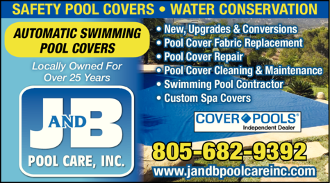 Yellow Pages Ad of J And B Pool Care Inc