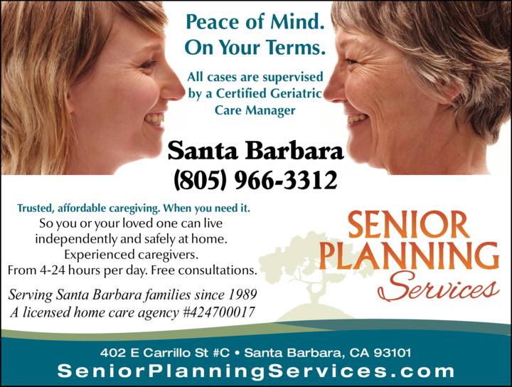 Yellow Pages Ad of Senior Planning Services