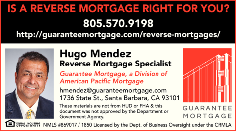 Yellow Pages Ad of Guarantee Mortgage