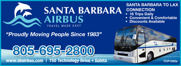 Yellow Pages Ad of Santa Barbara Airbus