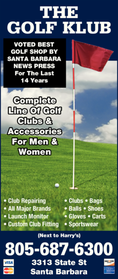 Yellow Pages Ad of Golf Klub The
