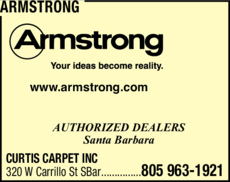 Yellow Pages Ad of Armstrong