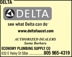 Yellow Pages Ad of Delta