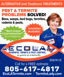 Yellow Pages Ad of Ecola Termite & Pest Control