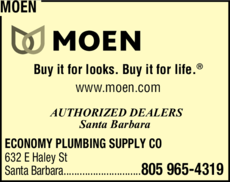 Yellow Pages Ad of Moen