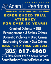 Yellow Pages Ad of Adam L Pearlman Law Offices Of