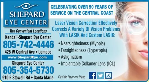 Print Ad of Shepard Eye Center