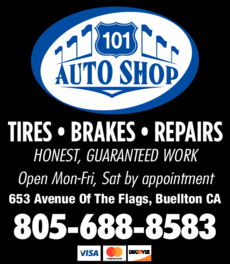 Yellow Pages Ad of 101 Auto Shop