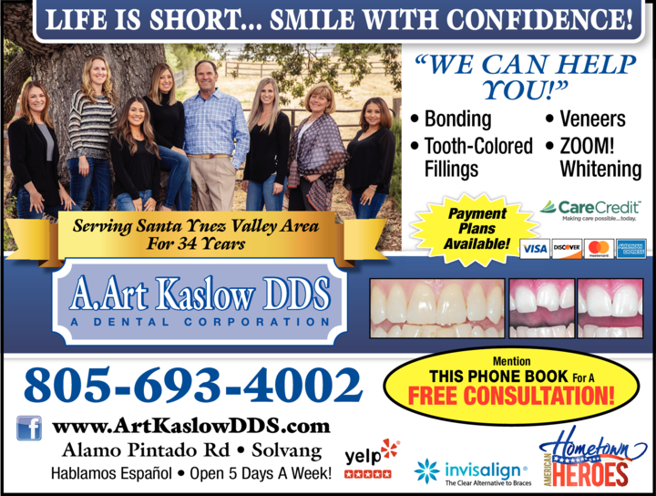 Print Ad of Kaslow A Art Dds