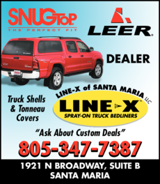 Yellow Pages Ad of Santa Maria Line X