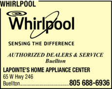 Yellow Pages Ad of Whirlpool