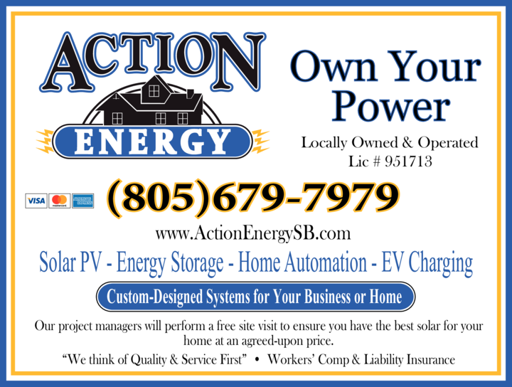 Yellow Pages Ad of Action Energy