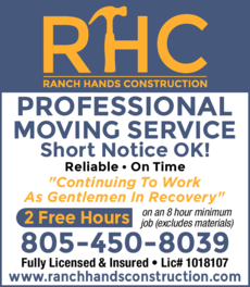 Yellow Pages Ad of Ranch Hands