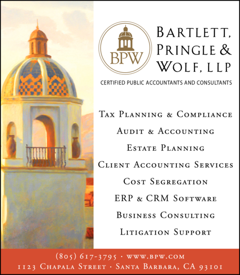 Yellow Pages Ad of Bartlett Pringle & Wolf Llp