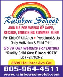 Print Ad of Rainbow School