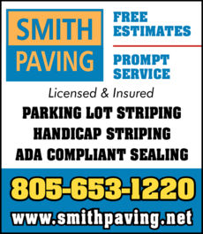 Yellow Pages Ad of Smith Paving