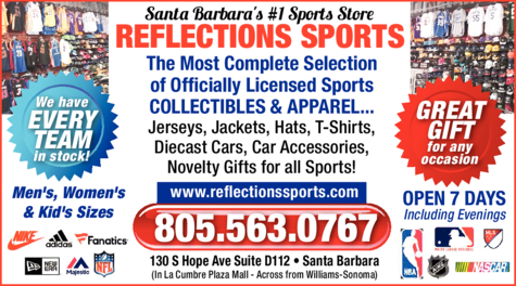 Print Ad of Reflections Sports