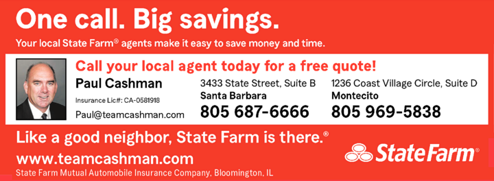 Yellow Pages Ad of State Farm - Paul Cashman