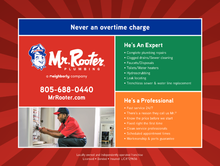 Yellow Pages Ad of Mr Rooter