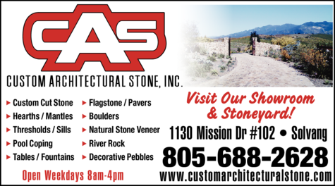 Print Ad of Custom Architectural Stone