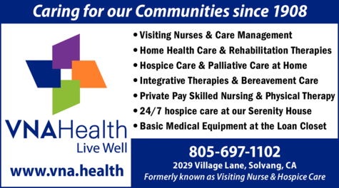 Yellow Pages Ad of Vna Health (Formerly Visiting Nurse & Hospice Care)