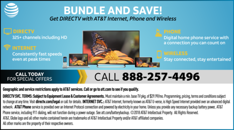 Yellow Pages Ad of Directv
